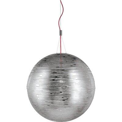 Magdalena 1-Light Globe Pendant Size / Finish: 74.8 H x 19.7 Dia / Tin-plated
