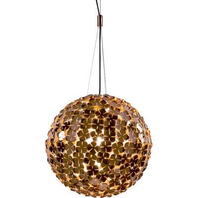 OrtenZia Large 1-Light Pendant Finish: Gold Plated