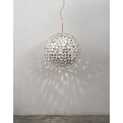 Ortenzia 1-Light Pendant Finish: Nickel