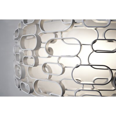 Glamour 3 Bulb Wall Sconce Finish: White