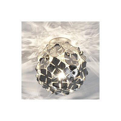 OrtenZia Ceiling Light Finish: Nickel
