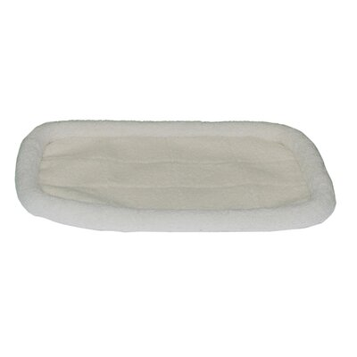 Fleece Donut Pet Bed Size: 29 L x 19 W