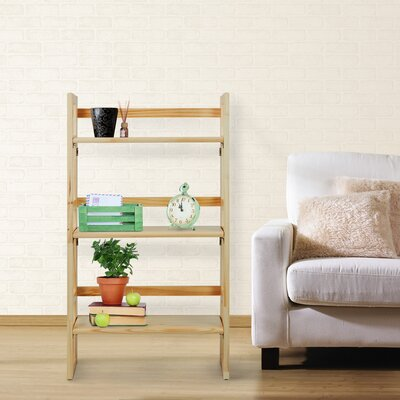 Folding 37 Etagere Bookcase