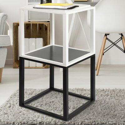 Modular 2 Piece End Table Set