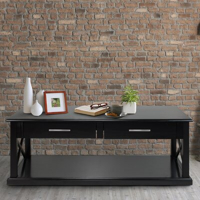 Bay View Coffee Table Finish: Black