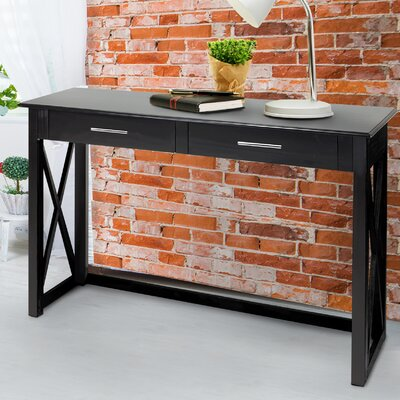 Bay View Console Table Finish: Black