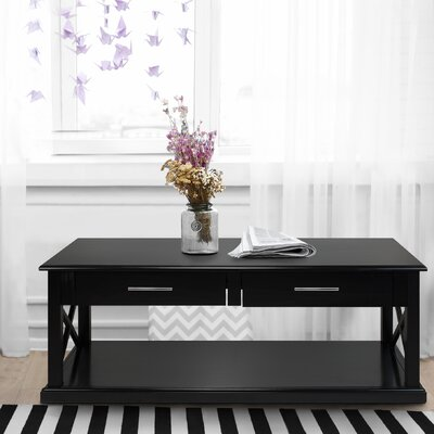 Stronghurst Coffee Table Color: Black