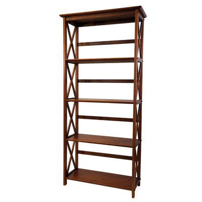 Casual Home Montego 5 Tier Bookcase - Finish: Walnut at Sears.com
