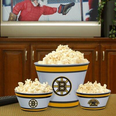 Boston Bruins Melamine Serving Bowl Set