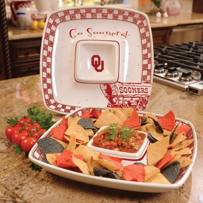 Oklahoma Gameday Chip And Dip