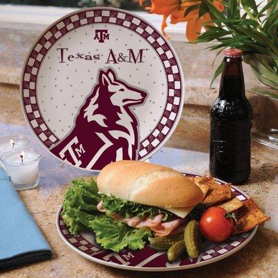 Texas A  M Gameday Ceramic Plate