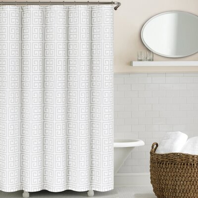 Westerfield Shower Curtain Color: Light Gray