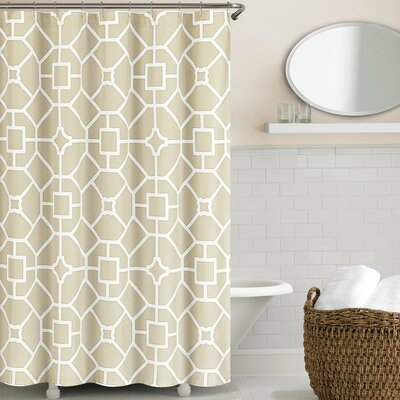 Gramercy Shower Curtain Color: Birch