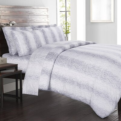 Kalahari 300 Thread Count 100% Cotton Sheet Set Size: Queen