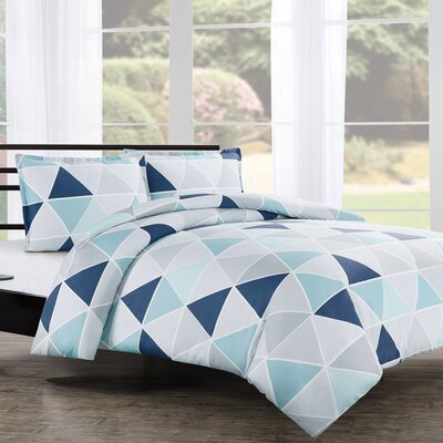 Tribeca Duvet Cover Set Size: Full/Queen