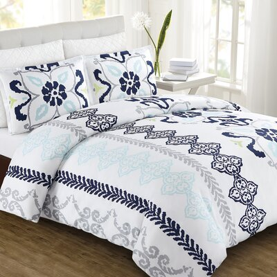 Zahara Duvet Cover Set Size: King