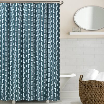 Yarmouth Links Shower Curtain Color: Dark Teal