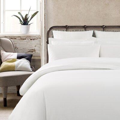 Krushap Vintage Washed Cotton Pillow Case Color: White
