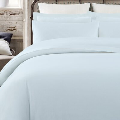 Krushap Vintage 200 Thread Count 100% Cotton Sheet Set Size: King, Color: Blue