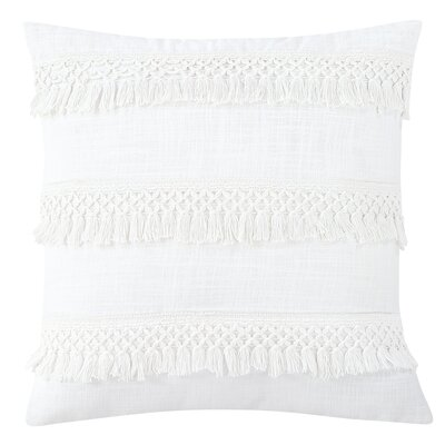 Keila 100% Cotton Throw Pillow