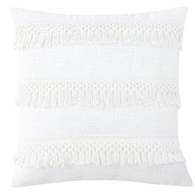 Keila 100% Cotton Throw Pillow