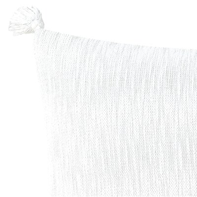 Kiana Textured 100% Cotton Lumbar Pillow