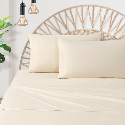 Watts Organic Cotton Percale Pillow Case