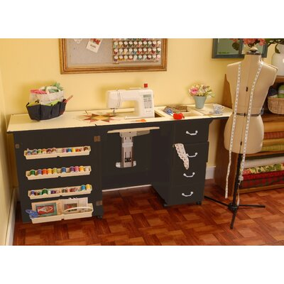 Serious Jean Wooden Sewing Table Desk Product Photo
