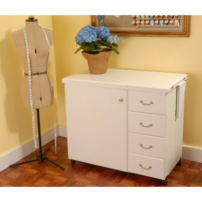Marilyn Sewing Cabinet - Finish: White