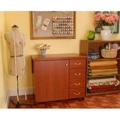 Marilyn Sewing Cabinet - Finish: Cherry