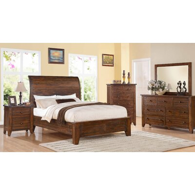 Cally Panel Configurable Bedroom Set