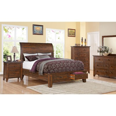 Cally Platform Customizable Bedroom Set