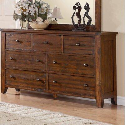Cally 7 Drawer Standard Dresser