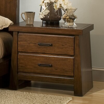 Modus Stella 2 Drawer Nightstand