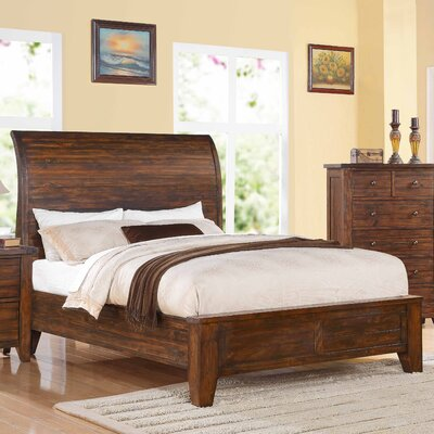 Cally Panel Bed Size: King