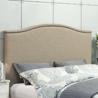 Geneva Upholstered Panel Headboard Size: Queen