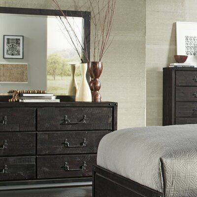 Sedgwick 6 Drawer Dresser with Mirror
