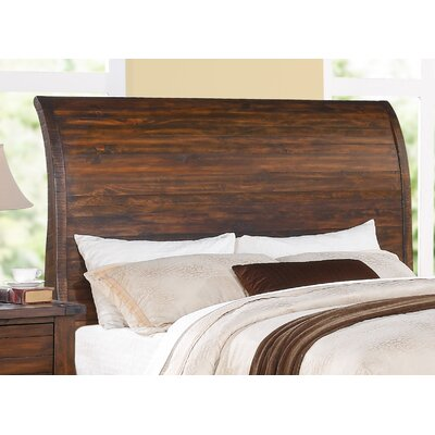 Jacob Sleigh Headboard Size: California King