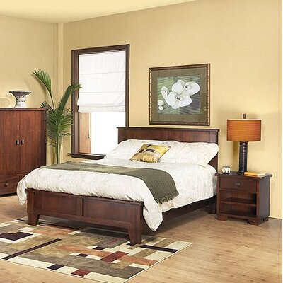 Modus Bedroom Furniture on Modus Canyon 3 Piece Low Profile Bedroom Set In