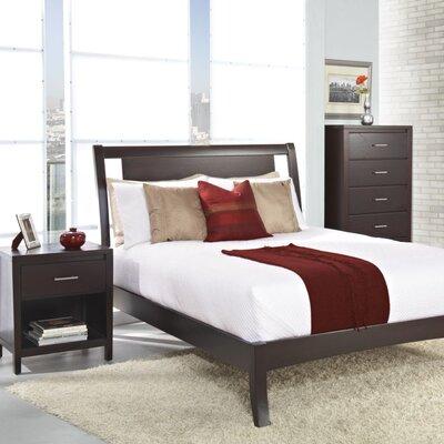 Modus Bedroom Furniture on Modus Riva 4 Piece Platform Bedroom Set With Nevis Accessories