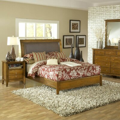 Rent to own City II Sleigh Bedroom Collection...