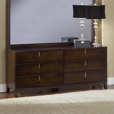 Financing Legend Wood 6 Drawer Standard Dress...