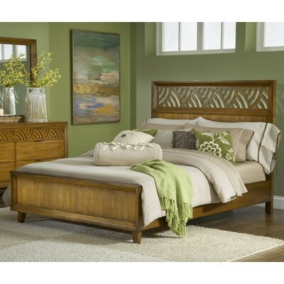 Easy financing Trellis Panel Bed Size: King...