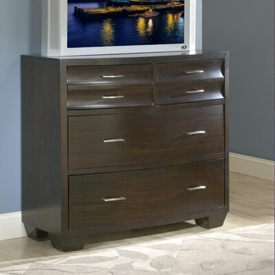 Furniture leasing Contour 4 Drawer Media Chest...