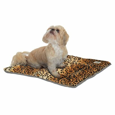 "Designer Sleep-ezz Dog Mat Size: Medium (30"" L x 20"" W)"