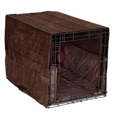 Plush Cratewear 3 Piece Dog Bedding Set Color: Coco Brown, Size: XX-Large:  36 W x 48 D
