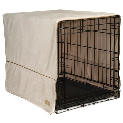 Pet Dreams Crate Cover Color: Ivory, Size: Medium