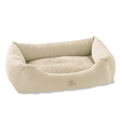 2 in 1 Plush Bumper Bolster Color: Ivory, Size: Large (24 W x 36 D)
