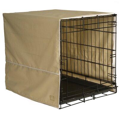 Crate Cover Color: Khaki, Size: 27 H x 24 W x 36 D
