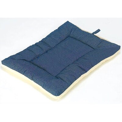 "Classic Sleep-ezz Dog Mat Color: Denim, Size: Extra Large (42"" L x 28"" W)"